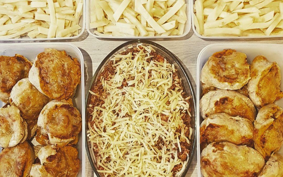 """""""Mealprep-sunday"""" – forberede mat til den kommende uka"""